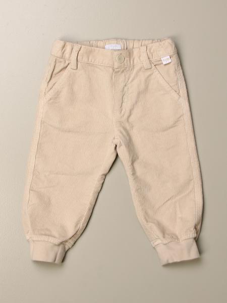 Pantalone Il Gufo basic in velluto 100 righe