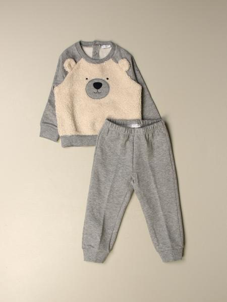 Complete sweatshirt + trousers Il Gufo with maxi bear