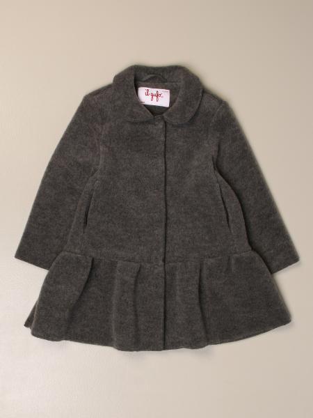 Cappotto Il Gufo in pile di lana