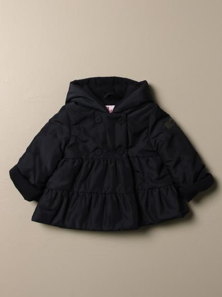 Il Gufo double-breasted jacket with hood