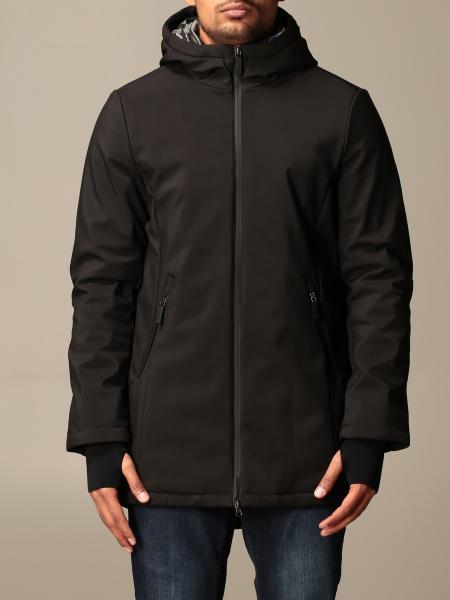 Invicta men: Long Invicta Soft shell jacket with hood