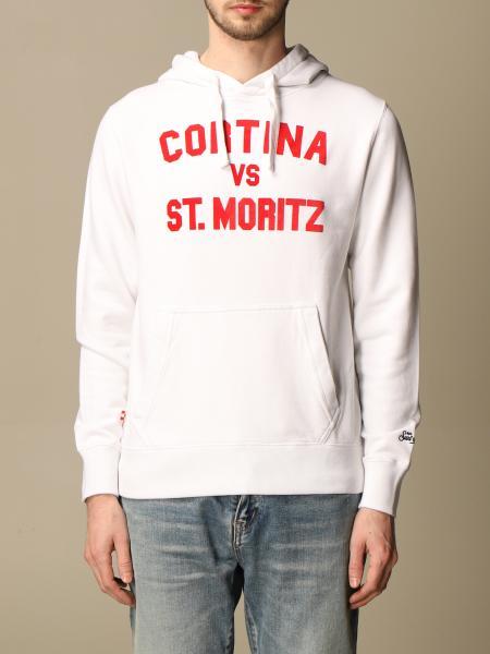 Mc2 Saint Barth: MC2 Saint Barth sweatshirt with Cortina writing
