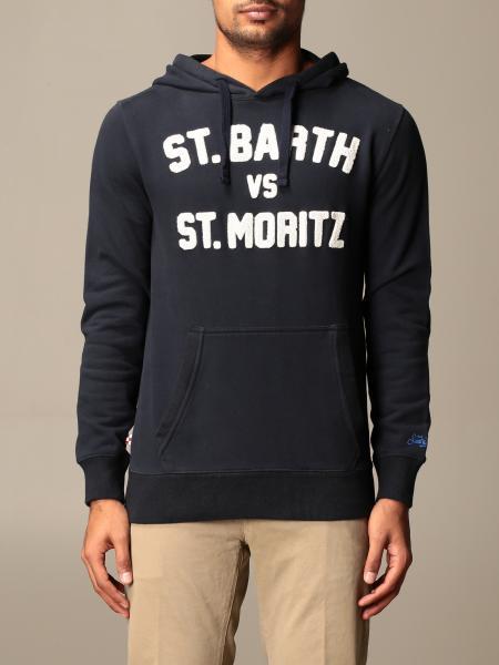 Mc2 Saint Barth: MC2 Saint Barth hooded sweatshirt with logo