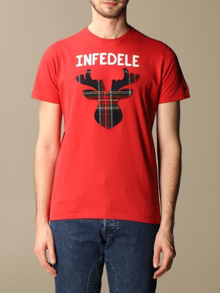 Mc2 Saint Barth: Mc2 Saint Barth t-shirt with unfaithful writing