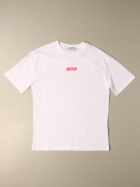T-shirt kinder Msgm Kids