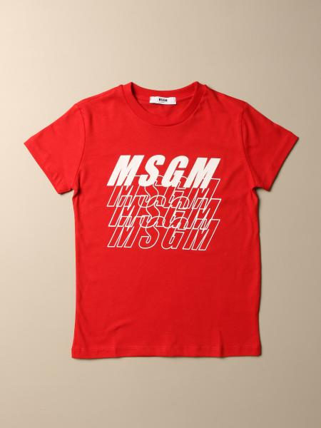 Camiseta niños Msgm Kids