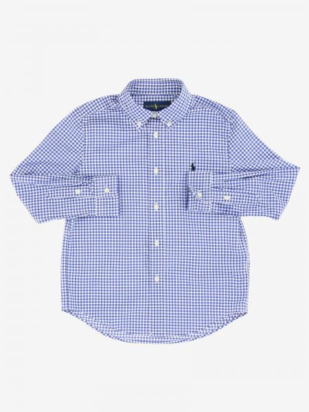 Polo Ralph Lauren Boy logo 衬衫