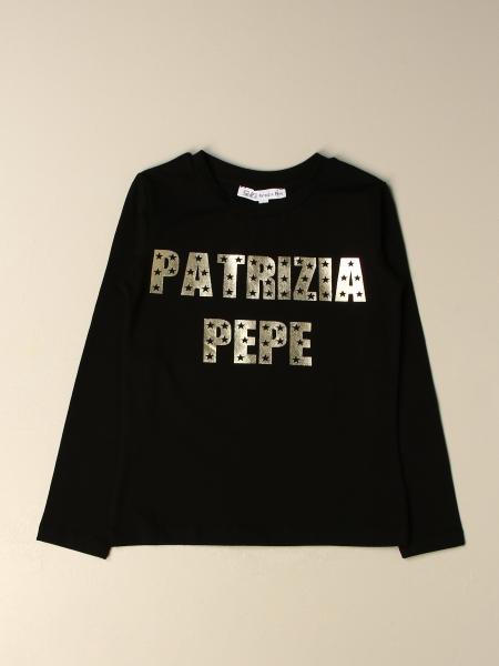 Patrizia Pepe: T-shirt Patrizia Pepe in cotone con logo laminato