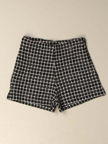 Patrizia Pepe shorts in check cotton blend