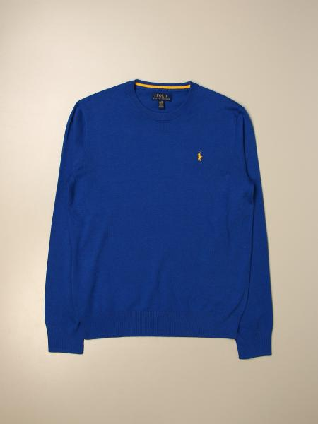 Polo Ralph Lauren kids: Polo Ralph Lauren Boy pullover with logo