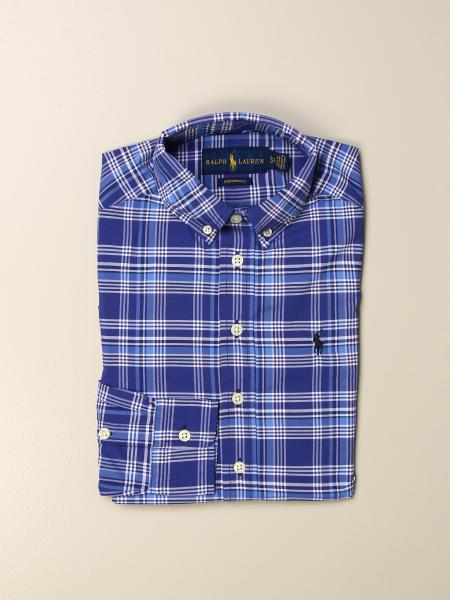 Polo Ralph Lauren Boy shirt with button down collar