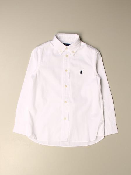 Camicia Polo Ralph Lauren Kid con collo button down