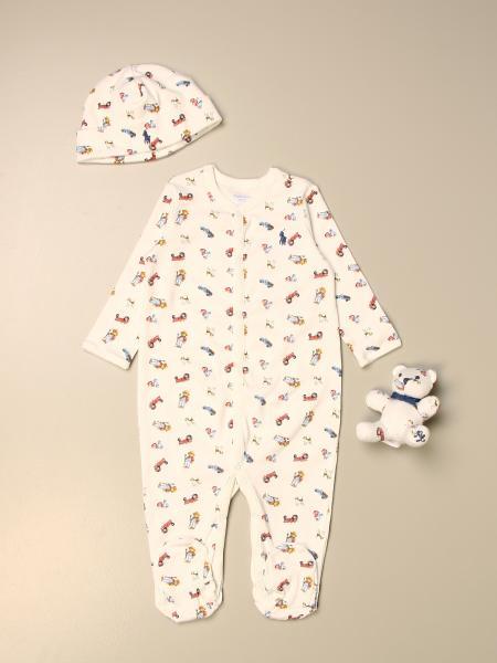 Set tuta + cuffia + orsetto Polo Ralph Lauren Infant