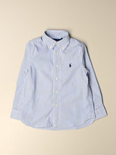 Camicia Polo Ralph Lauren Toddler con collo button down