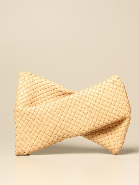 Clutch BV Crisscross Bottega Veneta in pelle intrecciata