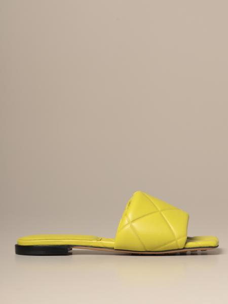 BV Lido sandal by Bottega Veneta in quilted nappa