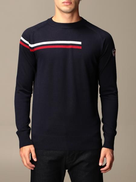Rossignol: Diago Rossignol crewneck sweater with striped band