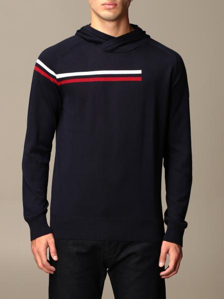 Rossignol: Rossignol hooded sweater with striped band
