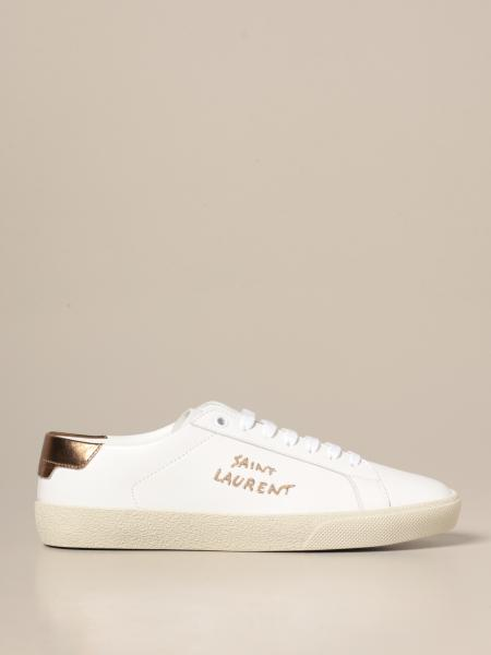 Saint Laurent donna: Sneakers Andy Saint Laurent in pelle