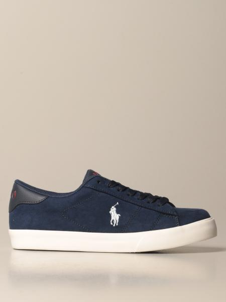 Sneakers Theron Polo Ralph Lauren in camoscio sintetico