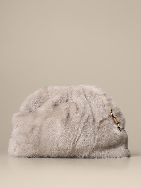 Simonetta Ravizza clutch in mink