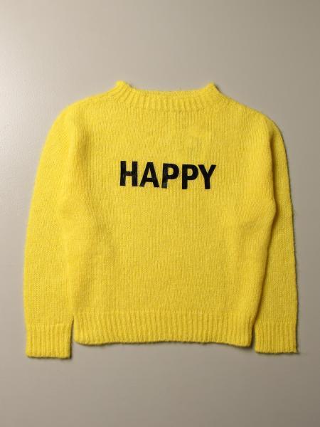Twinset kids: Twin-set crewneck sweater with jacquard logo