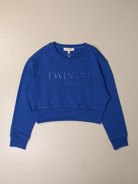 Twinset kids: Twin-set crewneck sweatshirt with logo