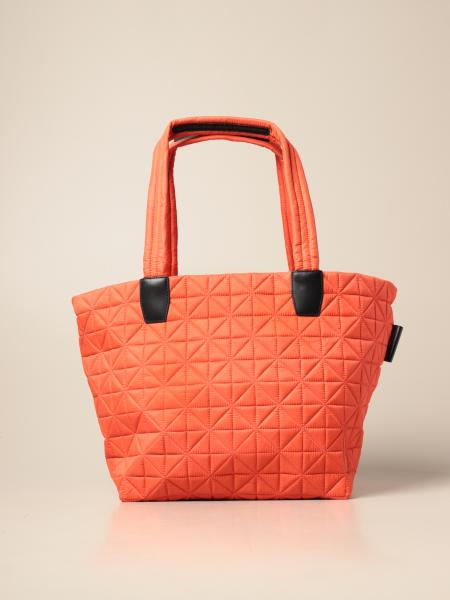 Vee Collective Berlin: Vee Collective Berlin medium shopping tote bag in recycled and quilted nylon