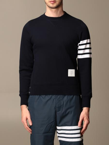 Thom Browne: Thom Browne cotton sweater with bands