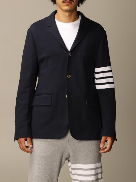 Thom Browne jacket in cotton with stripes