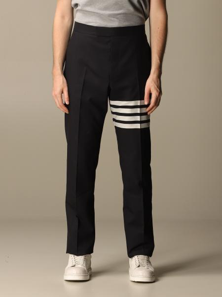Thom Browne wool trousers with bands