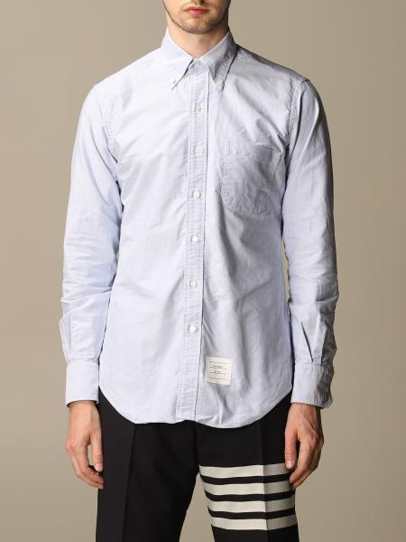 Thom Browne Oxford shirt with Italian collar