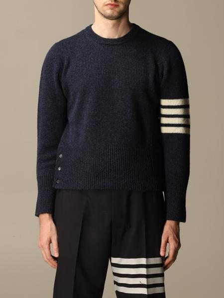 Thom Browne pullover in wool with stripes