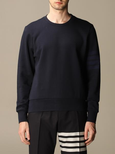 Thom Browne cotton sweater with bands