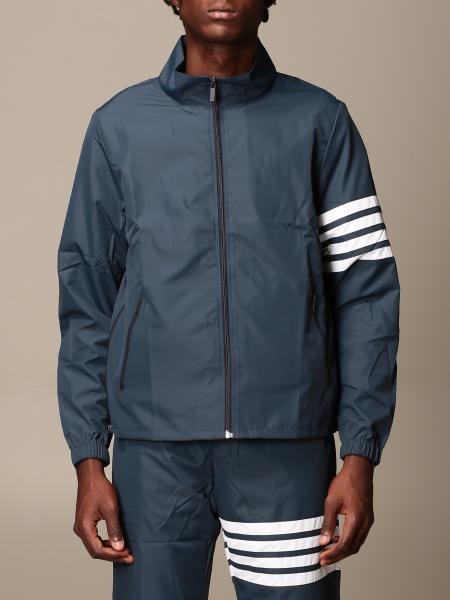 Thom Browne nylon jacket with bands