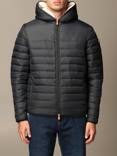 Save The Duck: Gigay Save The Duck down jacket in light nylon with hood