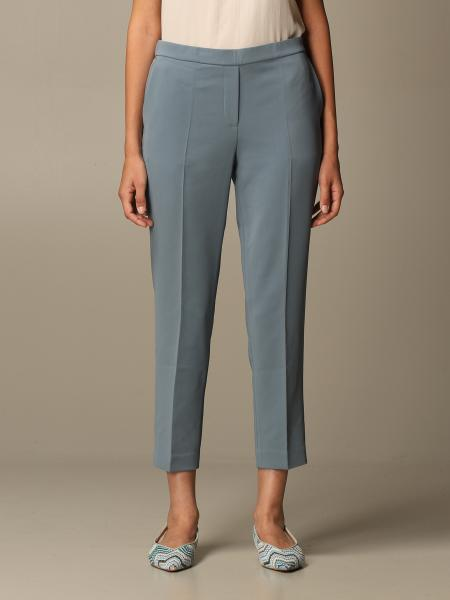 Theory: Theory trousers in crepe with america pockets