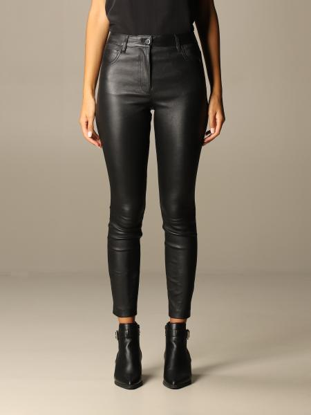 Theory: Jean Theory trousers in skinny fit leather