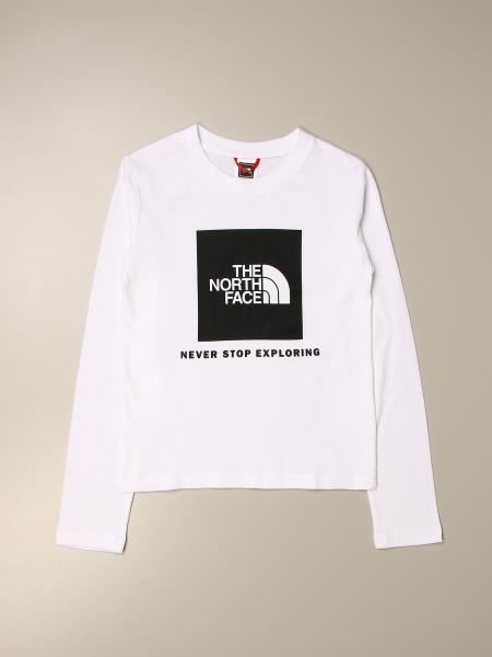 T-shirt The North Face con logo a contrasto