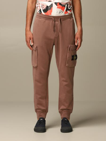 Stone Island jogging trousers with patch pockets
