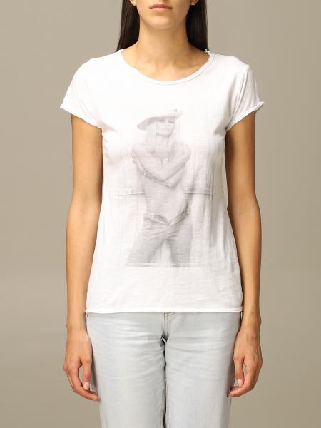 1921 short-sleeved T-shirt with print