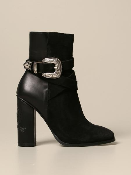 Hilfiger Collection ankle boot in suede and leather