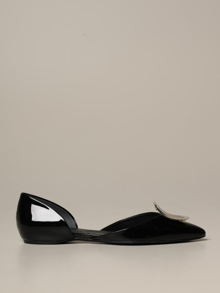 Dorsay Roger Vivier sexy shock ballet flat in patent leather