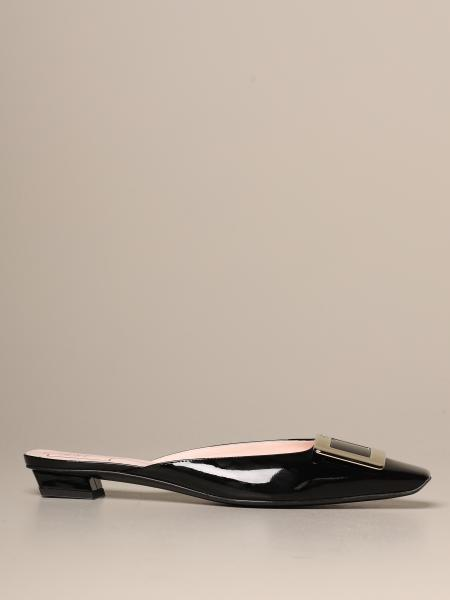 Belle Vivier Roger Vivier mule in patent leather