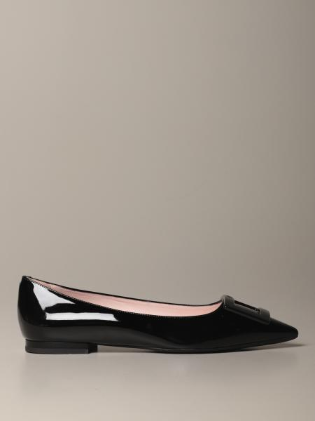 Ballet flat Gommette Roger Vivier in patent leather