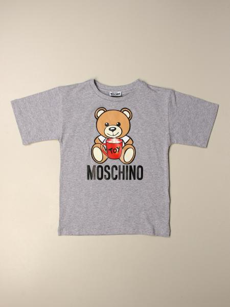 Moschino Kid sweater with Teddy toy