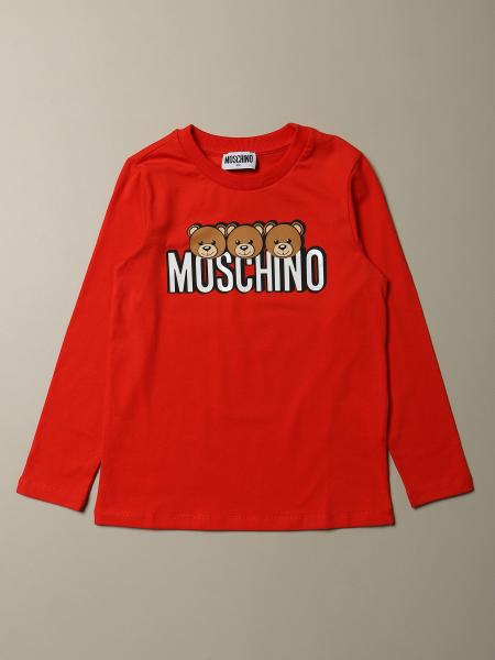 Moschino Kid T-shirt with Teddy logo