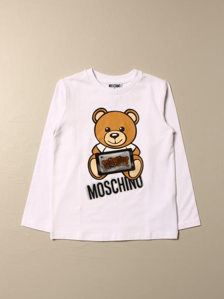 Moschino Kid sweater with Teddy game