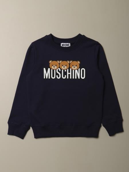Felpa Moschino Kid con logo Teddy