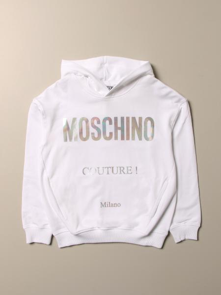 Moschino Kid sweatshirt with couture logo
